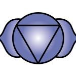 The Brow (Third Eye) Chakra Symbol