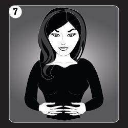 Reiki Hand Position 7