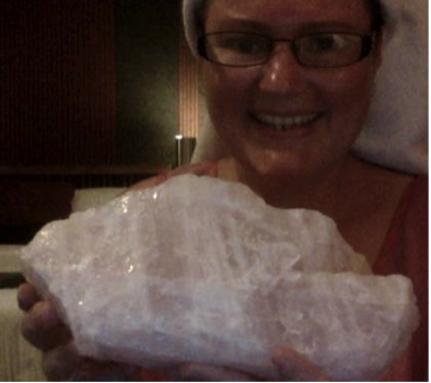 Tammy's Rose Quartz Crystal