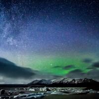 Stars over Iceland