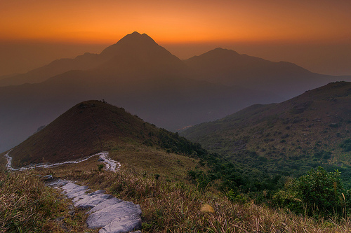 Sunset Peak,Hong Kong