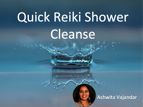 Quick Reiki Shower Cleanse