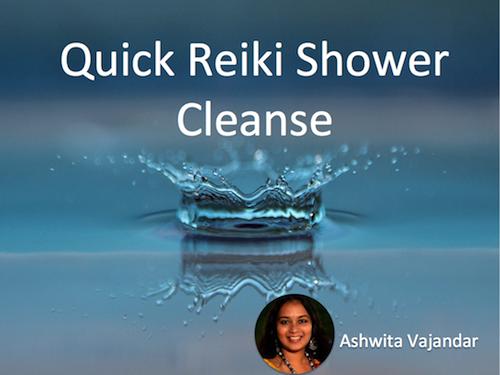 Quick Reiki Shower Cleanse