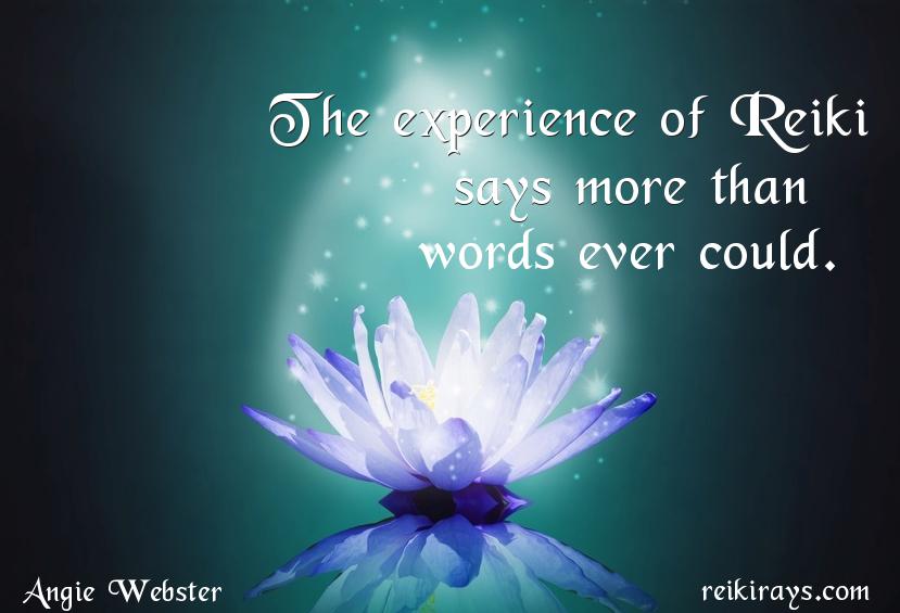 Experience of Reiki