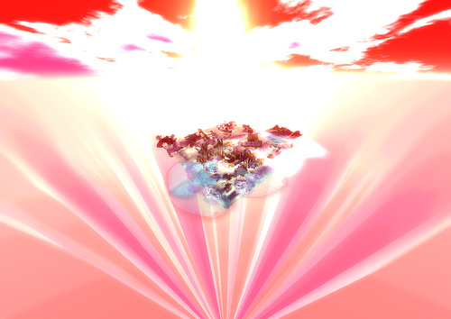 Healing with Reiki and Pink Light