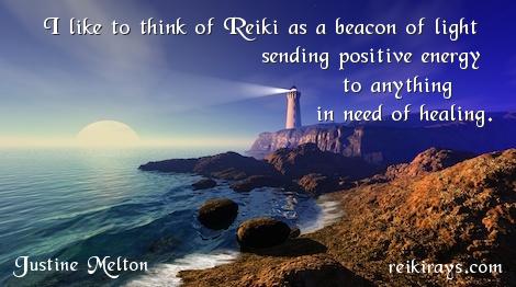 Justine Melton - Reiki Beacon of Light