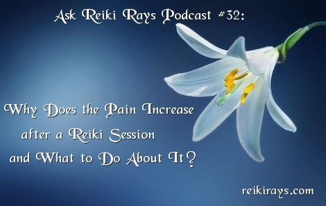 Pain After Reiki Session