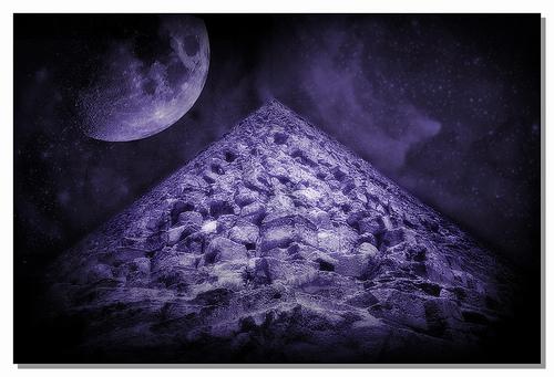 Pyramid and Mirror Shield