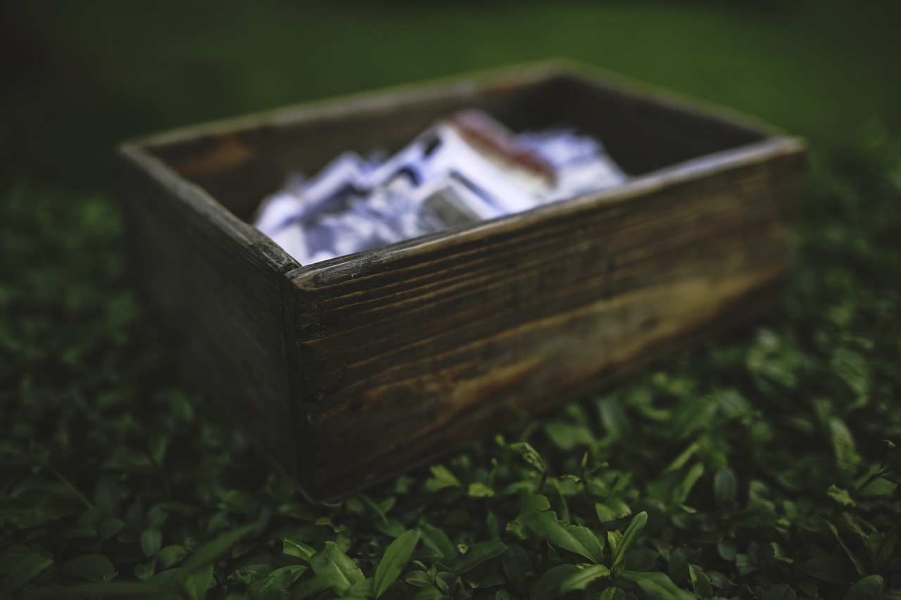 Reiki Chits Box