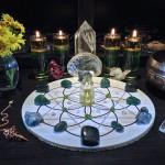 Abundance Prosperity Crystal Gemstone Grid 3