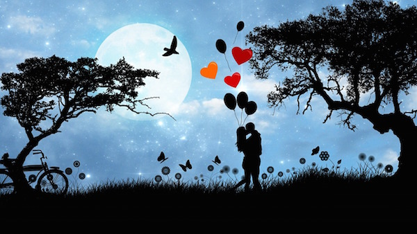 Full Moon and Twin Flames - Reiki Rays