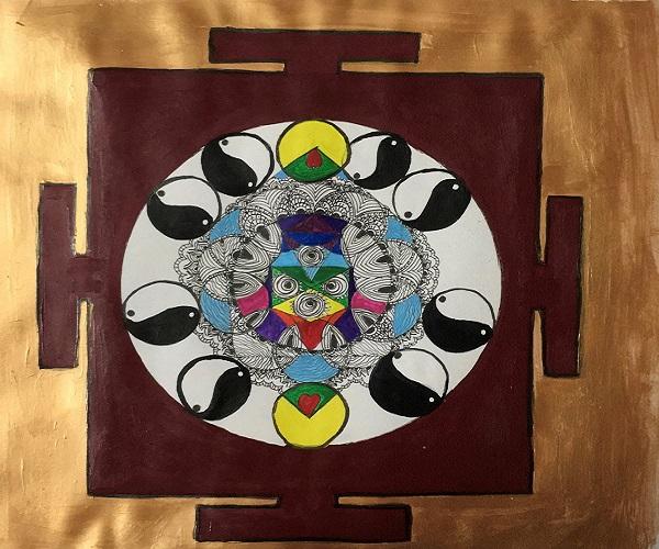 12 step process to use Mandala Yantras and paintings with Reiki