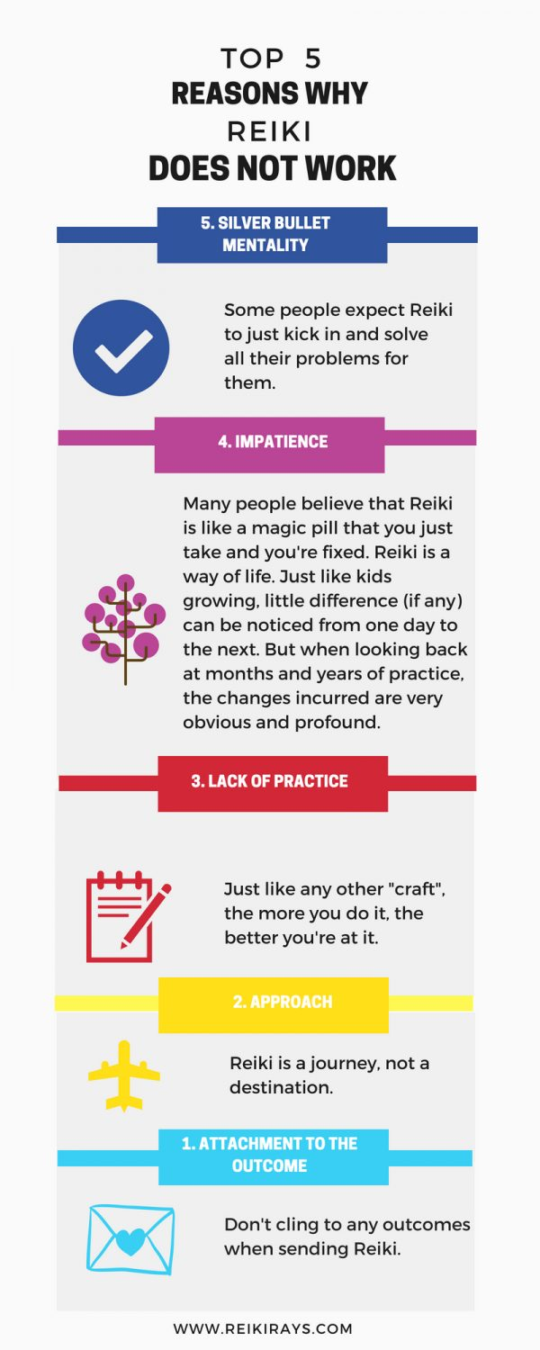 Top 5 Reasons why Reiki Does Not Work