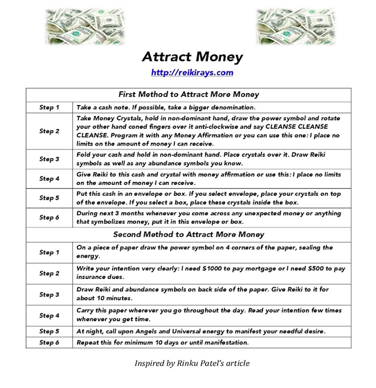Attract Money