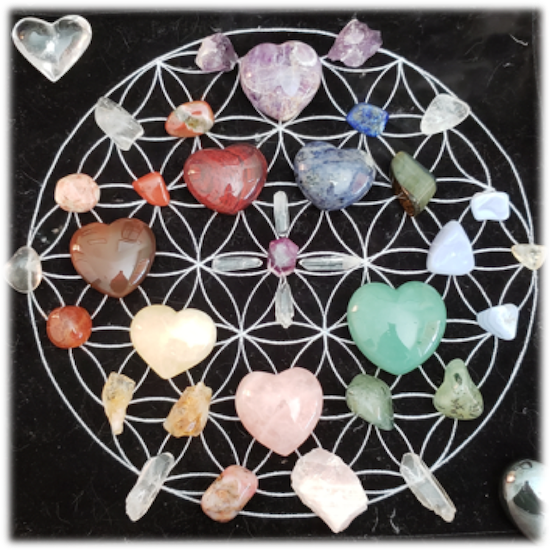 Crystals and the Lower Chakra System