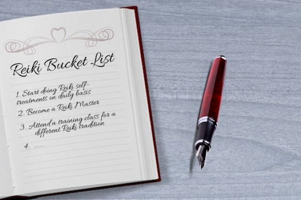 Reiki Bucket List