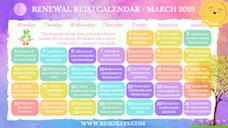 Reiki Calendar
