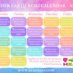 Mother Earth Reiki Calendar April 2019