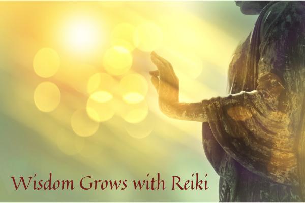 Wisdom Grows with Reiki