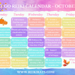 Let Go Reiki Calendar October 2019