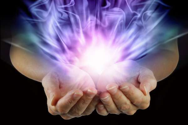 Healing Procedure for Spiritual Growth and Ascension Using Violet Flame Reiki