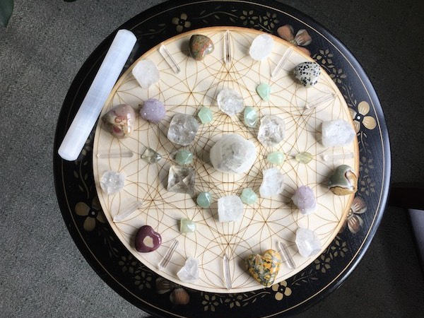 Crystal Grid for Global Reiki Unity and World Healing