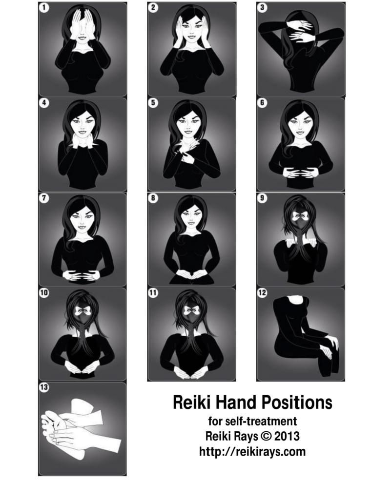 Reiki Hand Positions for Self-Healing