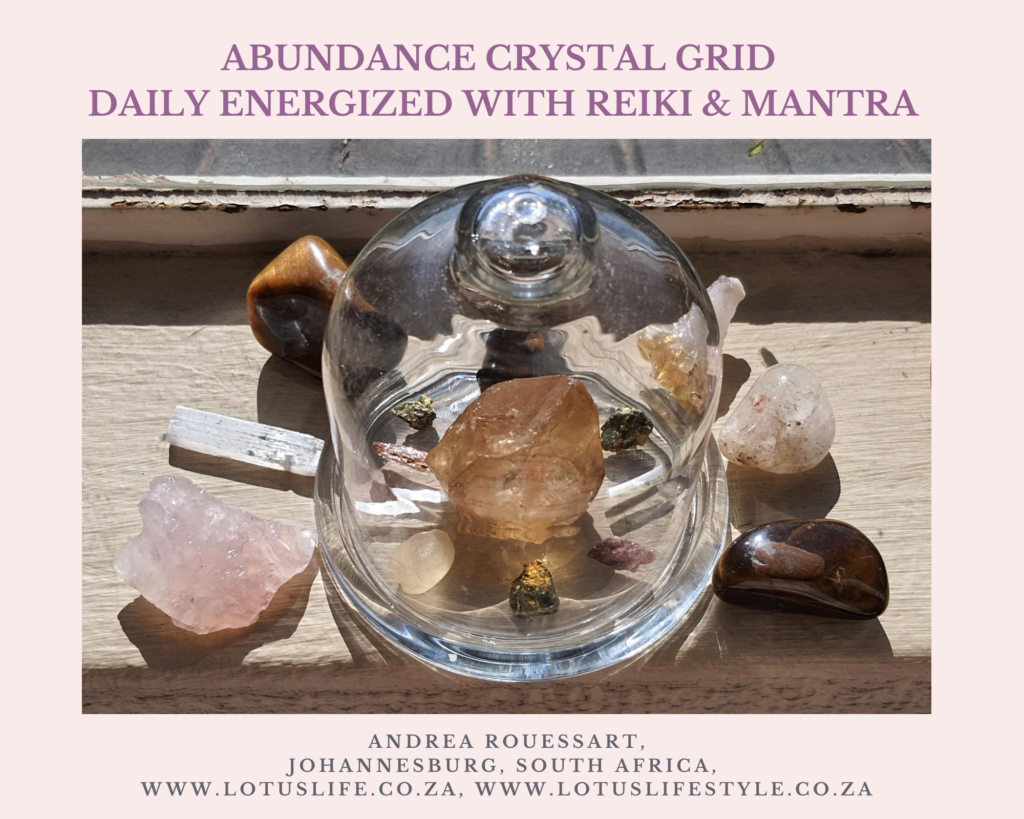 Crystal Grids as Powerful Energy Tools
