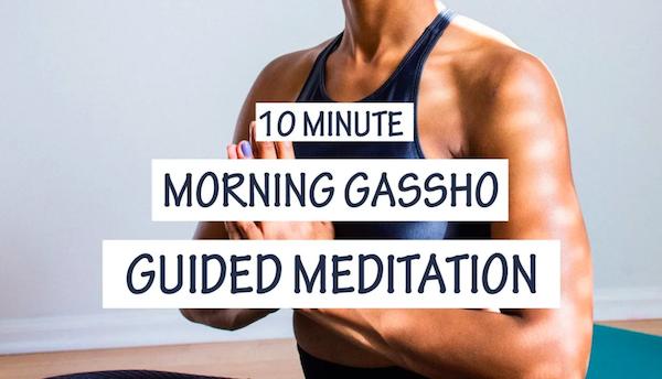 Gassho Meditation: Mikao Usui's Gift